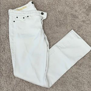 J Crew Size 31 white jeans
